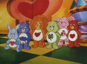 Care Bears were hugely popular with girls.
