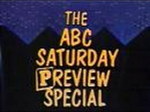 One of the many preview specials aired every year.