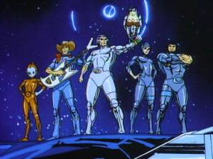Silver Hawks was an example of one of the stranger cartoons of the 80s.